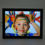 Ultra-Thin 알루미늄 프레임 하이라이트 LED 가벼운 상자