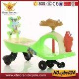 Passeio plástico popular super do bebê no carro com música/carro balanço do bebê