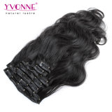 Virgin non trattato Body brasiliano Wavy Clip in Hair Extensions