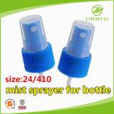 Fuente de la fábrica 24 410 cabeza de la bomba de plástico rociador de la niebla para botellas