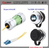 Optical Fiber Connector의 IP67 Waterproof Optical Connector Types