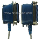 Nuevo producto para USB 2.0 para imprimir el paralelo 2 en 1 cable del convertido con precio competitivo