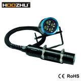 Hoozhu Hu33는 120m를 4000 루멘 알루미늄 양철통 잠수 플래쉬 등 방수 처리한다
