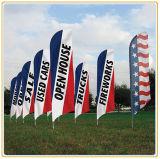 Flagpole esterno della visualizzazione della bandiera (4.5m)
