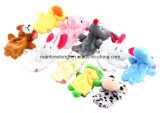 10 PCS/Pack Cartoon Animal Finger Puppet pour Baby Toy
