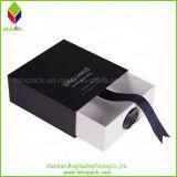 Boîte de empaquetage de tiroir de modèle de papier de cadeau promotionnel de bijoux