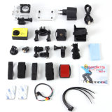 H. 264 WiFi 4k Sports Action Camera PRO5000 com Waterproof e Full HD 1080P