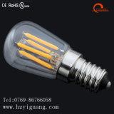 Bulbo del refrigerador de la lámpara de filamento de los lúmenes de la larga vida del LED alto St26