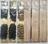 De edele Gouden Inslag van de Uitbreiding van Suzanne Synthetic Hair Weave Hair