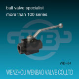 2PC High Pressure Female Threaded Carbon Steel Ball Valve