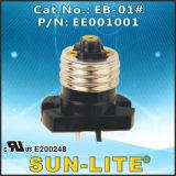 E26 Adapters Lamp Holders (Spingere-nei terminali rapidi); Eb-01b