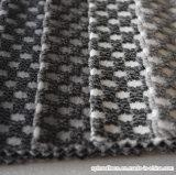 격자 무늬 패턴 두 배 색깔 양이온은 솔질한 소파 직물을 염색했다