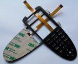 Interruptor de membrana de goma del telclado numérico de la alta calidad del Backlighting de encargo de Lgf (MIC0292)