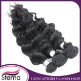 Cabelo humano brasileiro de tecelagem por atacado do Virgin não processado do cabelo de Remy