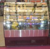 Étalage commercial d'étalage de gâteau avec l'étagère 2 gâteau d'étalage de 3 couches dans le système de boulangerie