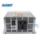 Inversor auto de la frecuencia del inversor de Suoer 1500W 24V 220V (STA-1500B)