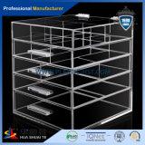 Scatola di presentazione acrilica di 4 strati con la scatola di presentazione acrilica della serratura per il boutique