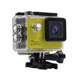 Nieuwe 24fps 4k WiFi Sports Action Camera met 8 Colours en de 2.0-duim 1080P van Full HD