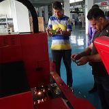 machine de découpage de laser de fibre de tube d'acier du carbone de l'acier inoxydable 500With1000W à vendre