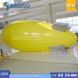 LEIDENE van de Ballon van het Helium van de Lucht van pvc de Blimp van het Opblaasbare Luchtschip RC van de Reclame