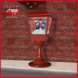 Rood 65cm Christmas Light met Flying Snow en Music