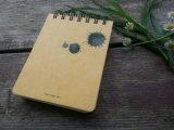 Impression de carnet de notes à spirale de cahier annonçant le bloc - notes