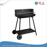 Piccolo BBQ registrabile semplice del carbone di legna della griglia del barbecue di altezza
