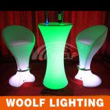 Colore moderno ricaricabile che cambia il tavolino da salotto luminoso di colore del LED