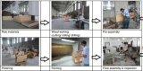 Mobília Sanitaryware do banho da vaidade do dobro do armário de banheiro do PVC (671-3)
