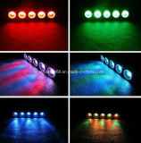Nueva MAZORCA LED 5X30W RGB de la barra de la matriz del LED en 1 luz de la anteojera de la etapa
