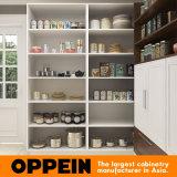 Armadi da cucina a forma di L modulari di legno della lacca di disegno moderno di Oppein