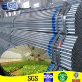 Construction (GP-2)를 위한 3inch Round Hot Dipped Galvanized Welded Steel Pipe
