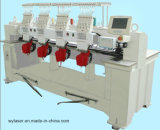 Máquina del bordado de la operación automática, máquina comercial del bordado de 4 pistas en máquina de alta velocidad del bordado