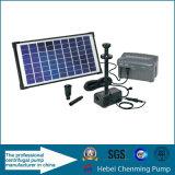 Hohe Leistungsfähigkeit Gleichstrom-angeschaltene versenkbare Bewässerung-Solarpumpe