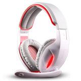 Auriculares estereofónicos de venda quentes do jogo dos auriculares do computador de Amazon
