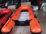 Aufblasbares Bewegungsboot für Fischen