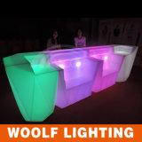 Éclairage LED sectionnel personnalisé de compteur de barre de modèle
