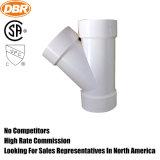 Heiß-Verkauf Dbr Rohrfitting 1.5 Zoll-Ypsilon