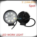 Ricambi auto 24W Car LED Work Light LED Lighting Spot