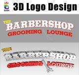 Proporcionamos al diseño de encargo de la insignia 3D y del texto, etiqueta engomada 3D (SU-SC20)