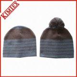 Gorritas tejidas hechas punto invierno de la promoción del telar jacquar de la manera