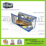 Prefabricar las casas minúsculas modulares del paquete plano