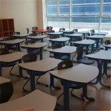 A tabela lisa da cor e do Woodgrain HPL para estudantes usou-se