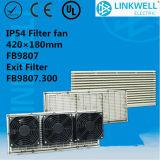 UL anti-Firing ABS Big Power Axial Fan Filter met Ce Certificate voor Netwerk Cabininet/Infrastructure Control Cabinet/(FB9807)