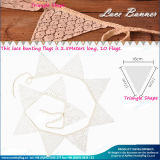 Decoration (M-NF11F19021)를 위한 주문 Pattern Cotton Bunting Flags