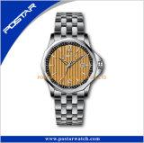 Orologio famoso del quarzo del Giappone Movt dell'acciaio inossidabile di marca per gli uomini