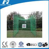 3X3X3mの正方形のゴルフネット(HT-GN-02)、ゴルフPracticのネット、トレーニングのネット、HDPE/PP/Polyester/Nylon