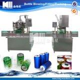 El plástico puede maquinaria de relleno para la industria de las bebidas