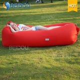 Base di aria gonfiabile del sofà dell'aria dell'aria di DIY del sacco a pelo del sofà della presidenza di colore rosa pigro della mobilia