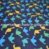 Tela impressa poliéster personalizada de 75D Digitas para o saco/cortina